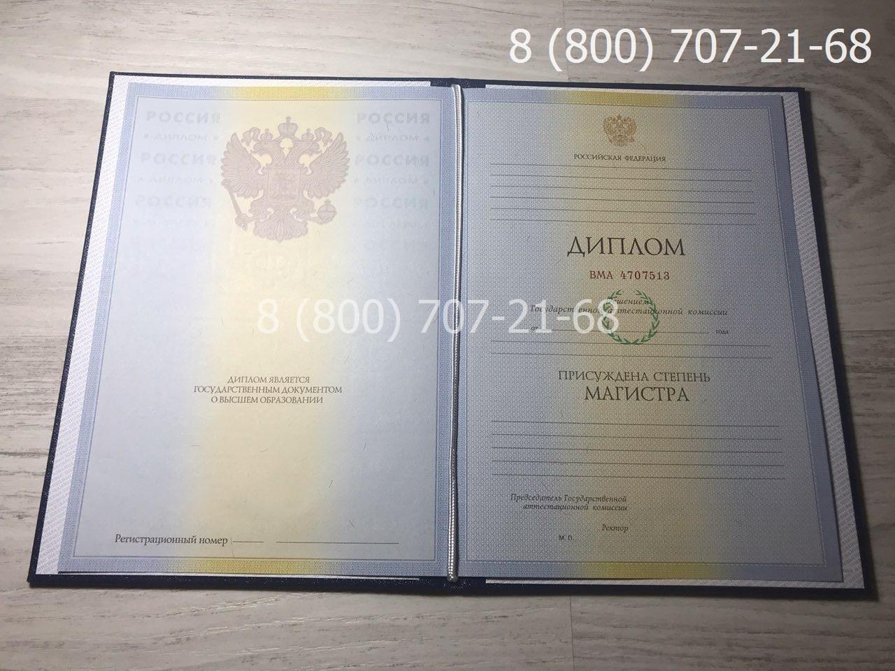 Диплом магистра 2009-2011 года фото 1