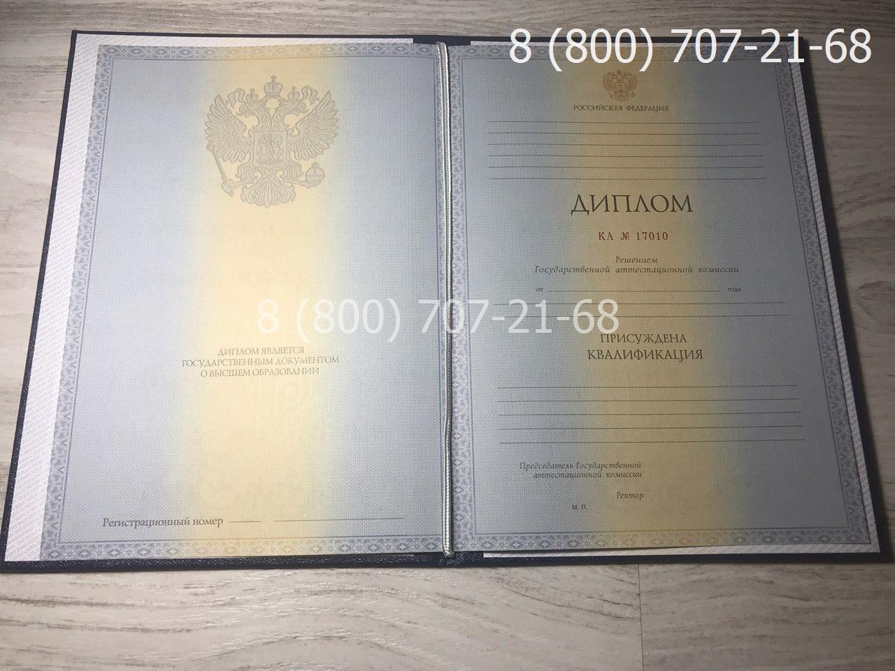 Диплом специалиста 2011-2013 года, старого образца фото 1