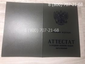 Аттестат 11 класс 1994-2006 года 2