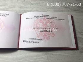 Диплом доктора наук 1997-2019 года фото 5