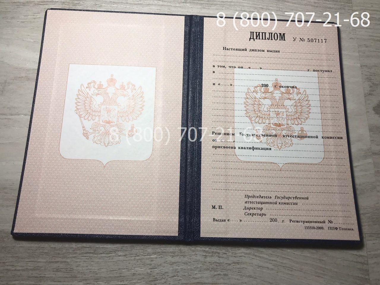 Диплом ПТУ 1995-2006 года фото 1