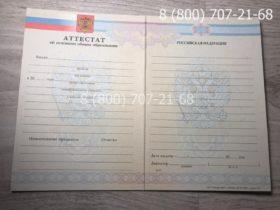 Аттестат 9 класс 2007-2009 года-1