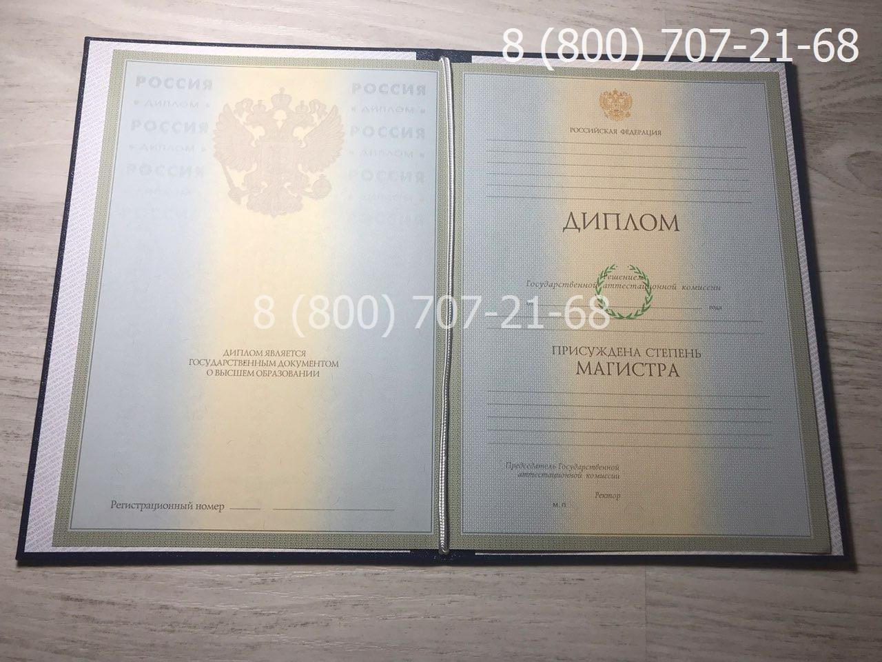 Диплом магистра 2004-2009 года 1