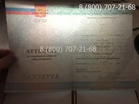 Аттестат 9 класс 2010-2013 года 5
