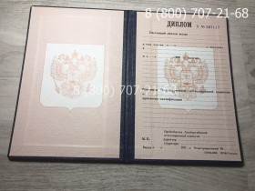 Диплом ПТУ 1995-2006 года 1
