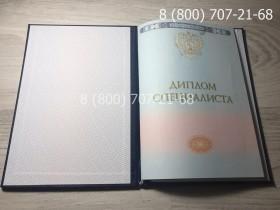 Диплом специалиста 2014-2019 года