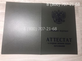 Аттестат 11 класс 1994-2006 года 3