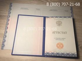 Аттестат 11 класс 2014-2019 года 2