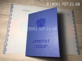 Аттестат 11 класс 2014-2019 года 3