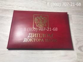 Диплом доктора наук 1997-2019 года 7