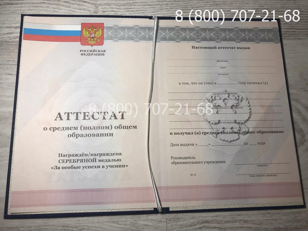 Аттестат 11 класс 2010-2013 года 1