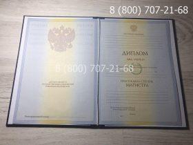 Диплом магистра 2009-2011 года, старого образца