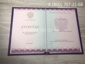 Аттестат 9 класс 2014-2019 года 1