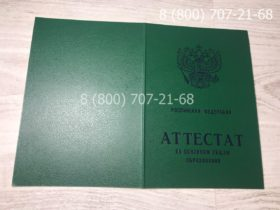 Аттестат 9 класс 1994-2006 года-2