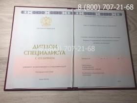 Диплом специалиста с отличием 2014-2019 года 1